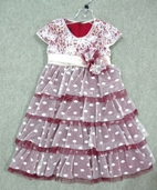 Isobella & Chloe Lace & Tulle Empire Girls Rosie Dress 12m 24m 2T