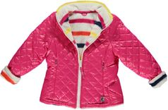 One Kid  Pink Reversible Thermo Jacket  3t 4
