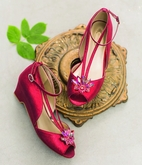 Joyfolie Arabella Shoes in Crimson Red 10 11 1Yth
