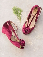 Joyfolie Arabella Heel Shoes in Cranberry 10 last 1