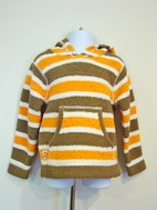 Julep Lounge by Kashwere Fun Striped Pullover Hoodie