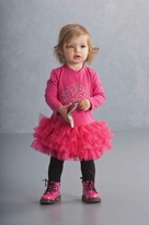 Kate Mack Hot Pink Infant & toddlerTutu Dress 9m 3T