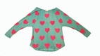 Kiddo by Katie Blue w/Pink Hearts Tween Top 14 *Top Seller*