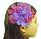 Kids Kapers Lavender & Purple Organa Peony Hair Flower