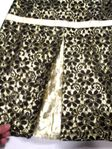 Laundry Girls Gold & Black Lace Elegant Girls Dress  7 6x