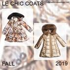 "Le Chic Girls Coats <font color=""ff0000""> New"