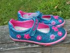 Lelli Kelly Francine Dolly Girls Mary janes Shoes in Turquoise Glitter