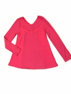 Lipstik Girls Bubble gum Pink Tunic Top 2T 3T 4T