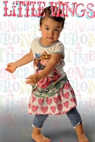 Little Wings by Paper Wings Big Hearts Baby & Toddler Shirred Skirt 18m 24m