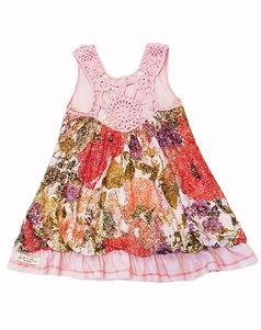Luna Luna Copenhagen Crochet T-Back Infant Girls Dress 18/24m