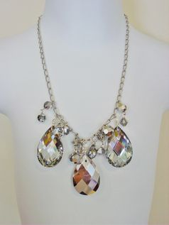Matooka Kids Candy Circle Stunning Crystal Necklace