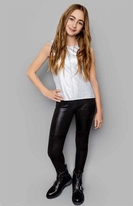 Mia New York Classic Black Girls Ponte Pants