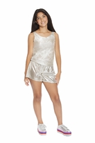 Mia New York Gold Tween Girls Romper 10  14/16