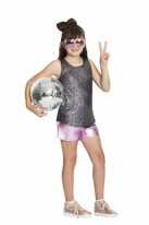 Mia New York Metallic Iredescent Girls Tank *Top Seller* 10