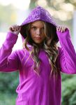Mia New York Sequin Girls Hoodie/Sweater Berry