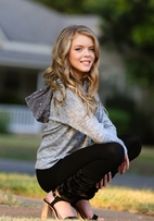 Mia New York Sequin Hood Grey Girls Sweater *Top Seller*
