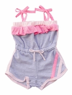 Miki Miette 1pc Fun Little Girls Summer Romper