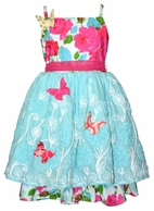Moxie & Mabel Paloma Spring Summer Dress w/Butterflies  12M