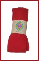 MP Festive Red Cotton Tights from Denmark Infant Toddler