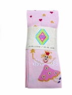 MP Pink Fairy Princess Tights w/Gold Stars & Red Hearts 12m 18m
