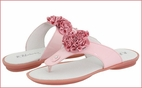 Naturino Very Special Pink Patent Leather Thong Sandals 8 9 11 12