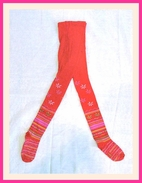 Nowali Holiday Red Tights w/Flowers 12M 2Y 4Y