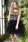 Ooh La La Couture Black Lace Father Daughter Dance Emma Dress 6