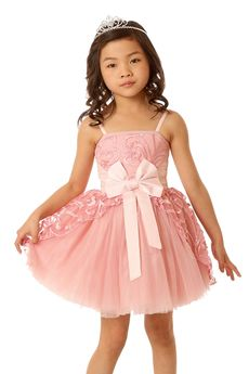 Ooh! La, La! Couture Blush Lady Jenna Dress  2t