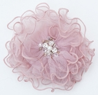 Ooh La La Couture Soft mauve Girls Hair Flower