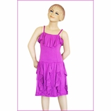 a6e281405d4 Plum by Plum Pudding Beautiful Lavender Girls Tween Dress w Ruffles