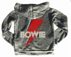Rowdy Sprout Boy's David Bowie Hoodie Top  sz 8 Only