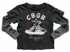 Rowdy Sprout CBGB Double Sleeve Boy's Concert Tee 10