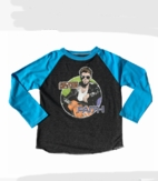 Rowdy Sprout George Michael Boy's Concert Tee 4t 6 8 12