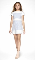 Sally Miller Ivory & Blue Tween Naples Dress