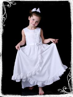 Sarah Louise Ankle Length First Communion/ Flower Girl Dress 6y