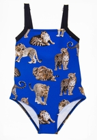 Submarine 1pc Jaguar Animals Swimsuit 8 16