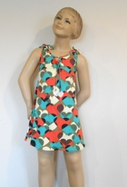 SUBMARINE Colrful  Girls Summer Dress Cover-Up  w/Hearts