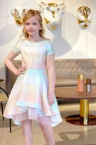 Truly Me Hi Low Fancy Tween Girls  Dress 7 10 14 16