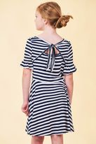 Truly Me Unique & Fun Navy Stripes Girls Dress Pre-order