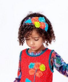 "Zaza Couture  ""Matisse"" Very Fun Rosette Headband 4/6x"