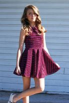 Zoe Ltd Sparkly Sequin Girls Daddy Daughter Dance Dress