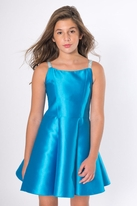 Zoe Ltd  Matte Sateen Crystal-Strap Tween Dance Dress *Top Seller*
