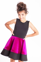 Zoe Ltd Pink & Black Velvet & Neo Swing Girls Daddy Daughter Dance Dress *Top Seller*