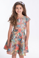Zoe Ltd Sienna Garden Colorful Tween Dress