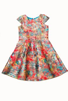 Zoe Ltd Sienna Garden Colorful Tween Dress 10 12 14 16