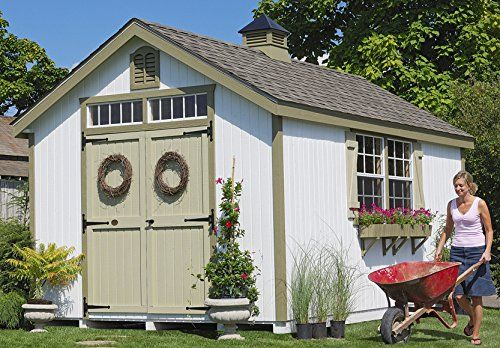 Colonial Williamsburg Storage Shed Diy Kit 8 X