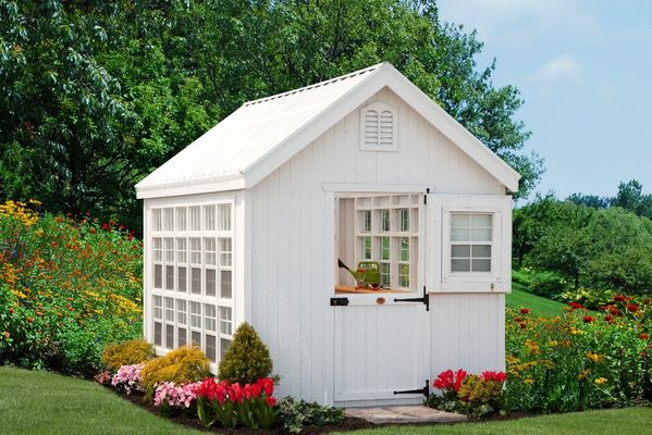 Garden Shed Panelized Greenhouse Kit 12 x 12