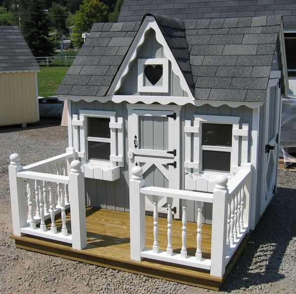 little cottage co playhouse deck and railing 4 x 6 rh ecanopy com little cottage co shed kits little cottage company greenhouse