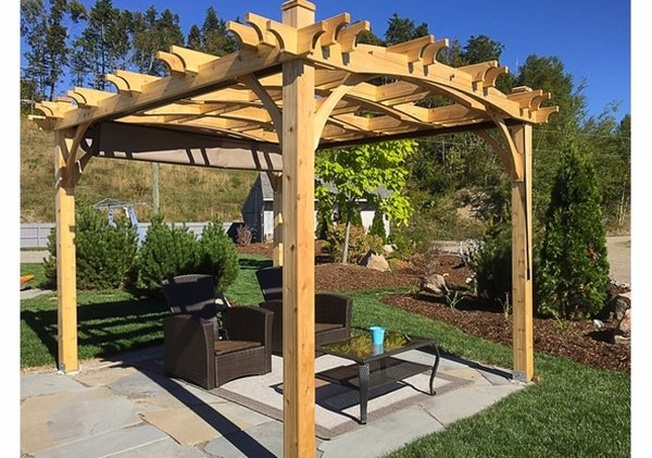 - Outdoor Living Today 12x10 Arched Breeze Pergola