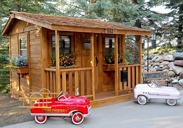 Outdoor Living Today 7x9 Cozy Cabin Playhouse